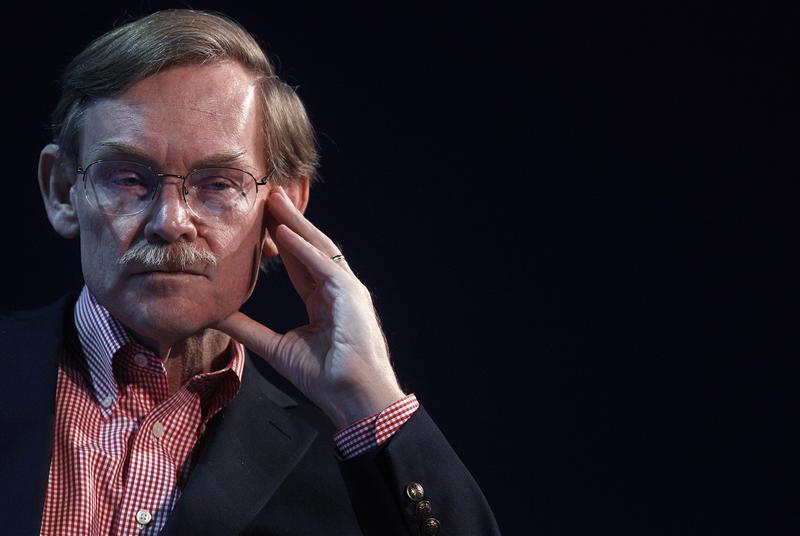 World Bank President Zoellick attends a session at the World Economic Forum in Davos