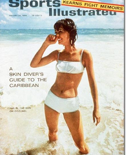 The Original 1964 Sports Illustrated Swimsuit Edition Cover