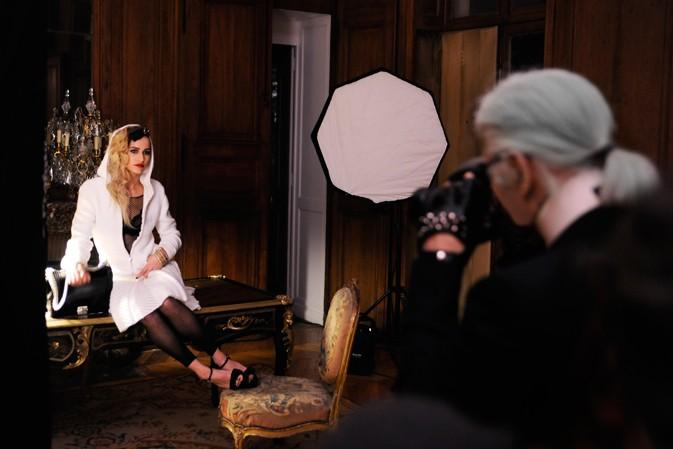 Sneak Peek of Karl Lagerfeld's Chanel Campaign Featuring Alice Dellal