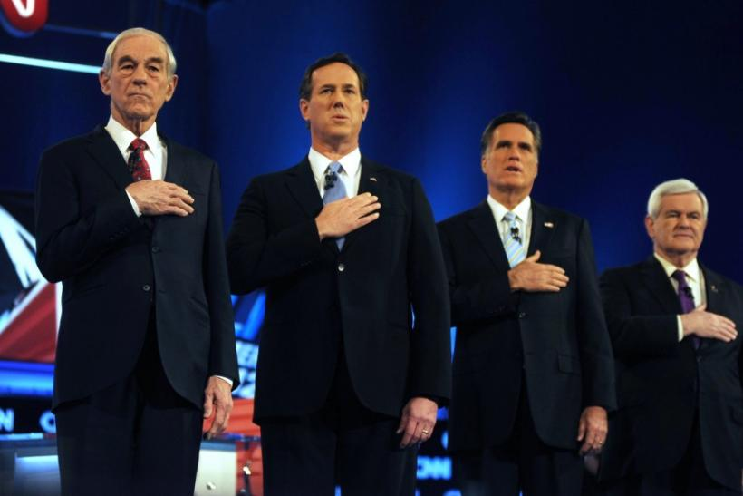 Republican Debate: It was a 'Surging Santorum vs. Raving Romney' Show