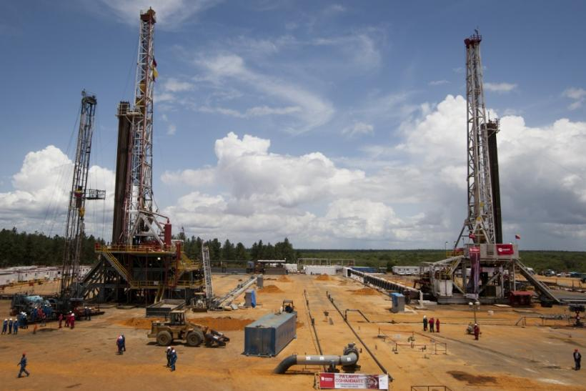 Venezuelan Drilling Rigs Of PDVSA In Morichal