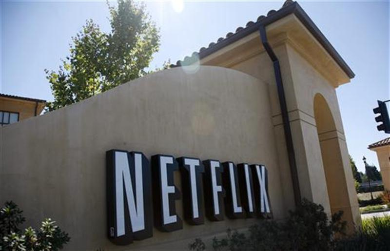 The headquarters of Netflix is shown in Los Gatos