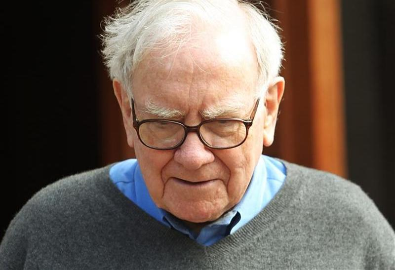 Berkshire Hathaway chairman and CEO Buffett attends the Allen and Company Sun Valley Conference in Sun Valley