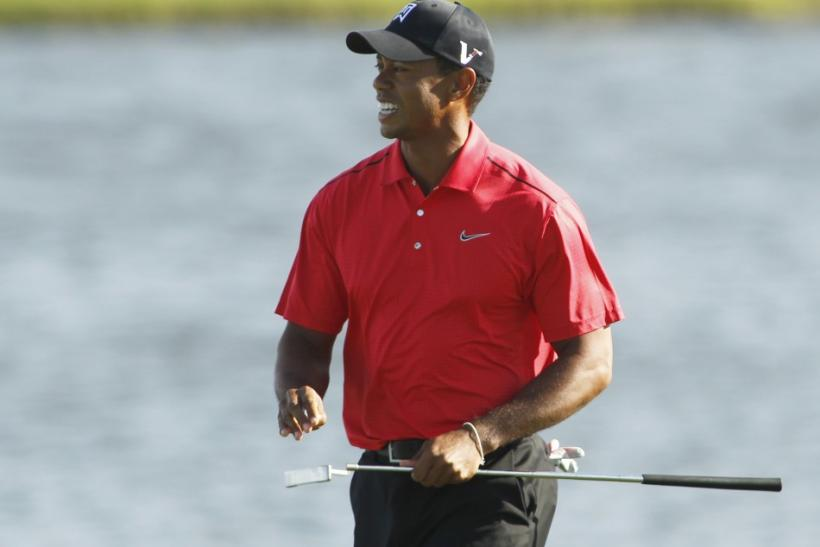 Tiger Woods is a 5 to 1 favorite to win the Masters in 2012.