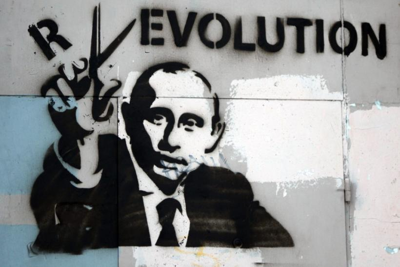 Political Graffiti in Russia