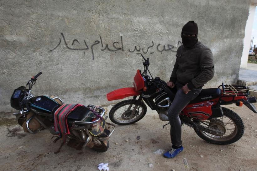 Political Graffiti in Syria
