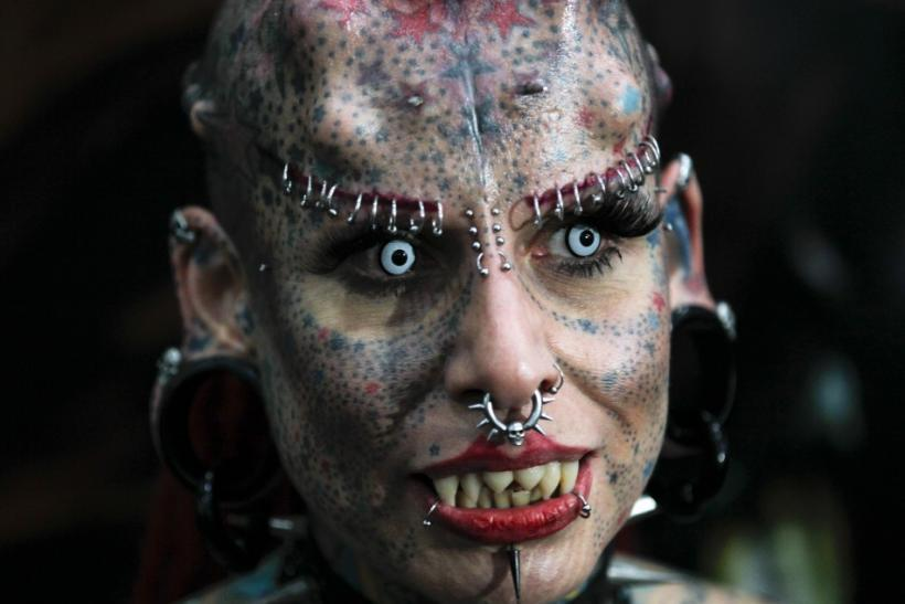 The Vampire Woman of Mexico: 'La Mujer Vampiro' [PHOTOS]
