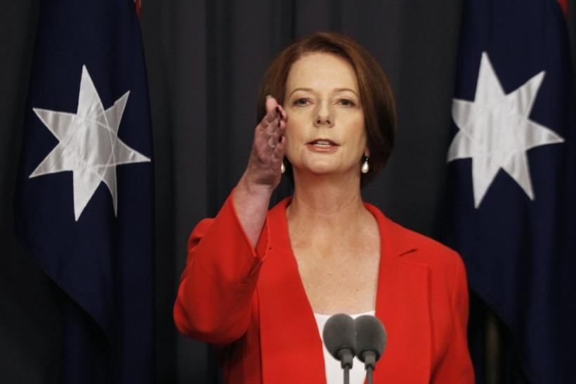 PM Gillard: Those Pushing for Rate Cuts Must Support the Budget Surplus