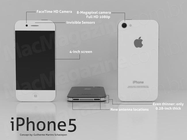 iPhone Concept Design by Brazilian Graphics Design student Schasiepen Guilherme Martins