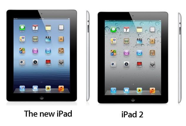 New iPad versus iPad 2