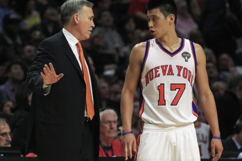 A few weeks ago, it seemed liked Jeremy Lin had saved Mike D'Antoni's job.