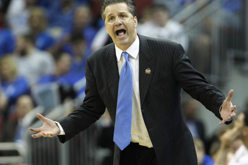 According to oddsmakers, John Calipari has a very good chance of winning his first ever national championship.