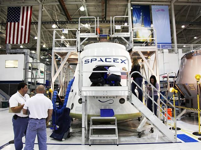 SpaceX Dragon Capsule