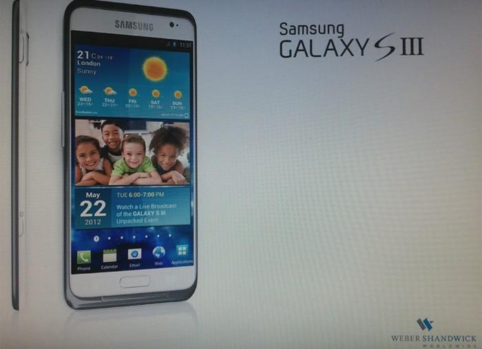 Galaxy S3 photo surfaced online
