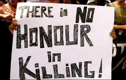 Honor Killing Protest