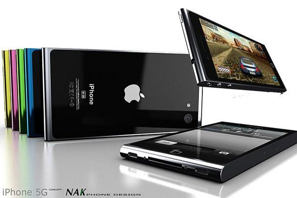 """iPhone 5G"" Concept - Design by NAK Studio"