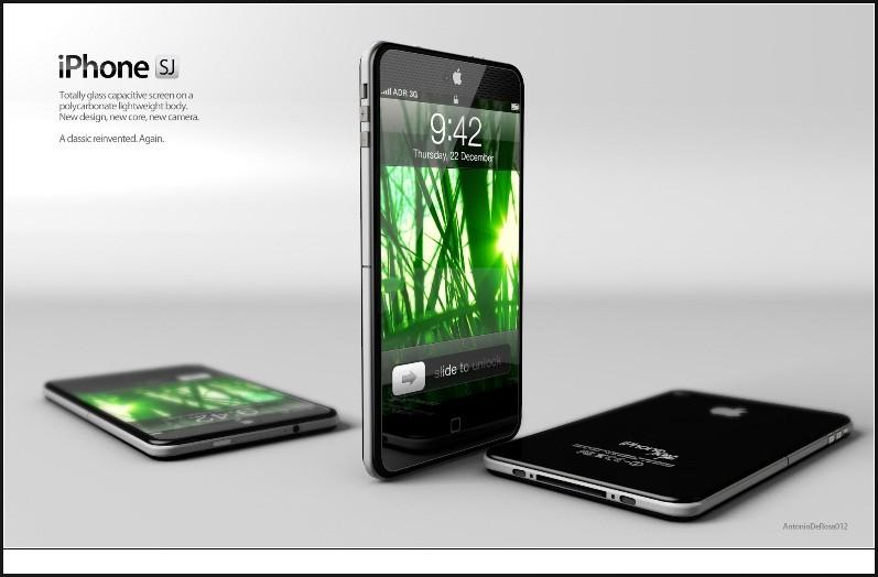 iPhone SJ Concept - Design by Antonio De Rosa of ADR Studio