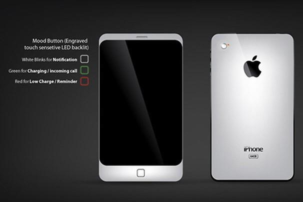Mood LED iPhone 5 Concept - Design by Kazi Shahriar Ahmed
