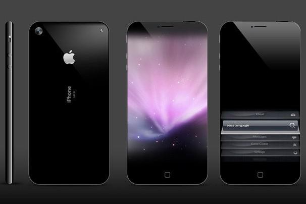"""Size Zero"" iPhone 5 Concept - Design by Antonello Falcone"