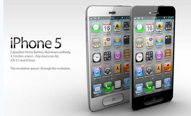 iPhone 5 Concept - Design by ADR Studio