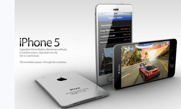 iPhone 5 Concept - Design by Antonio De Rosa of ADR Studio