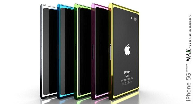 Apple iPhone 5 Concept - Design by NAK STudio