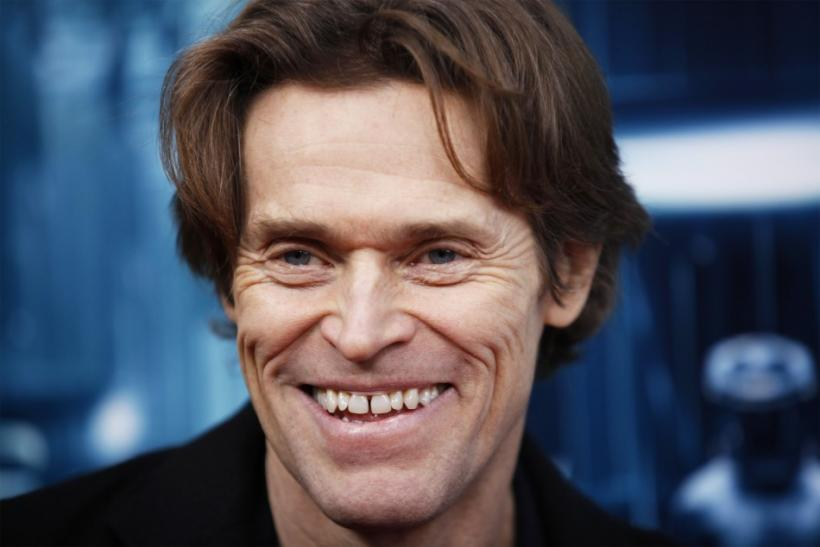 Actor Willem Dafoe arrives for the premiere of t