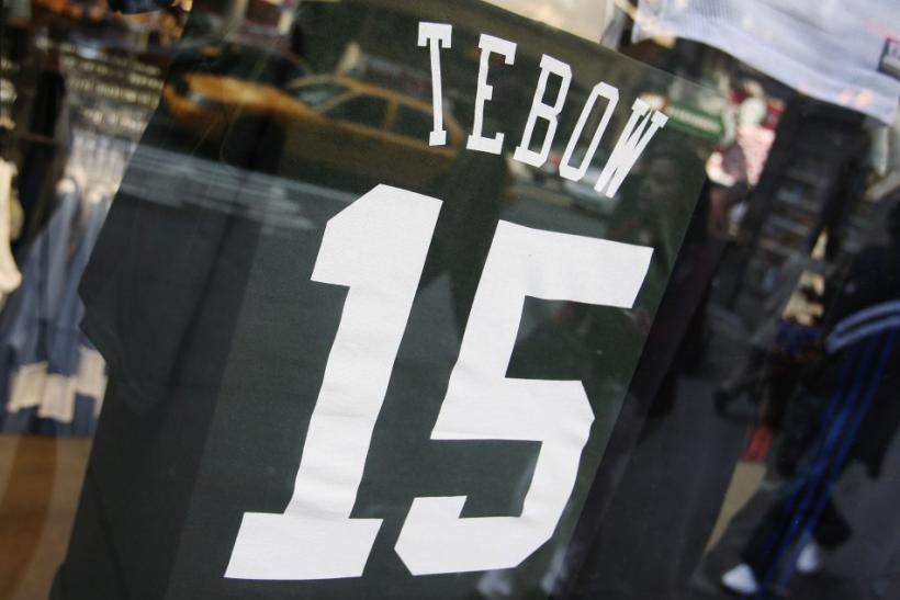 Tim Tebow Jet jerseys began selling days before the quarterback was officially introduced as a Jet.