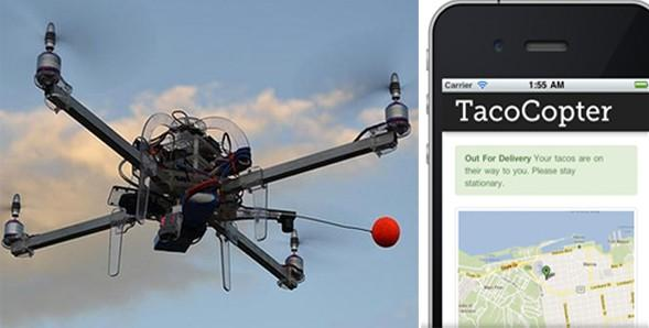 Tacocopter and Ordering on Smartphone
