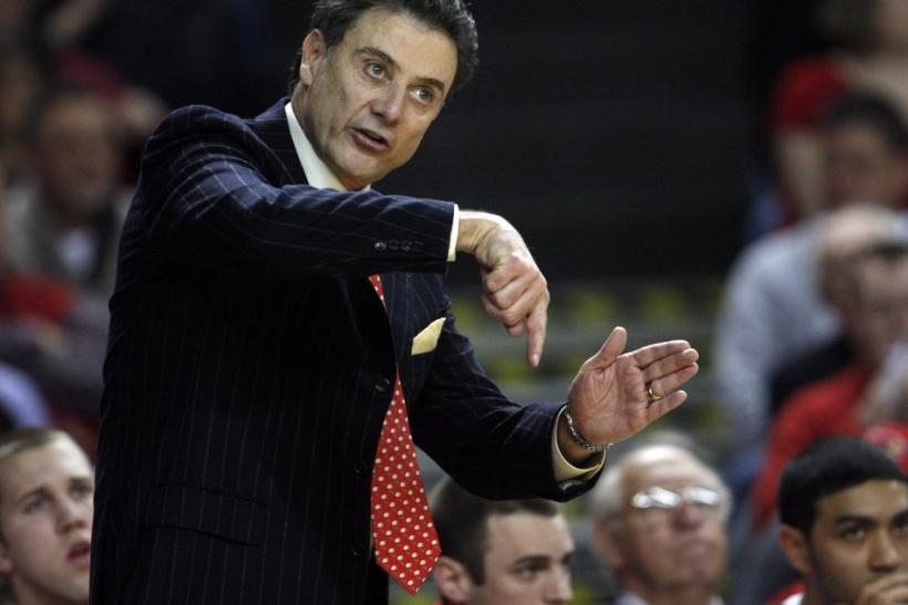 Rick Pitino coached Kentucky from 1989-1997.