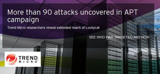 Trend Micro says Luckycat hack attack originated from China