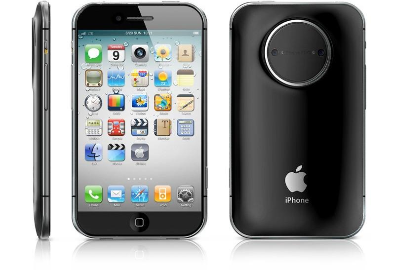 "iPhone 5 ""PRO"" Concept - Design by Jinyoung Choi"
