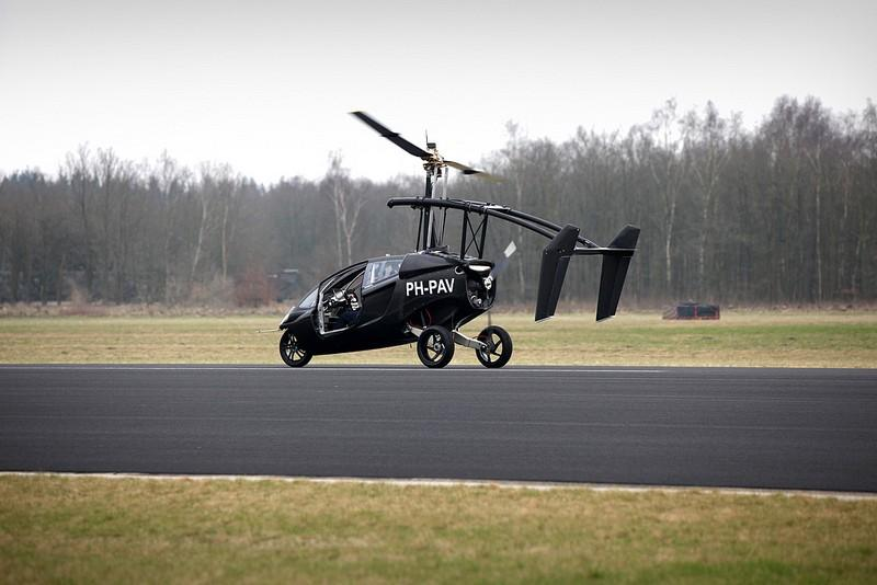 The Flying Car Has Landed: PAL-V Takes Flight [