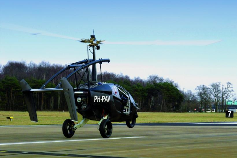 Flying Car PAL-V ONE Makes Successful Test Flight