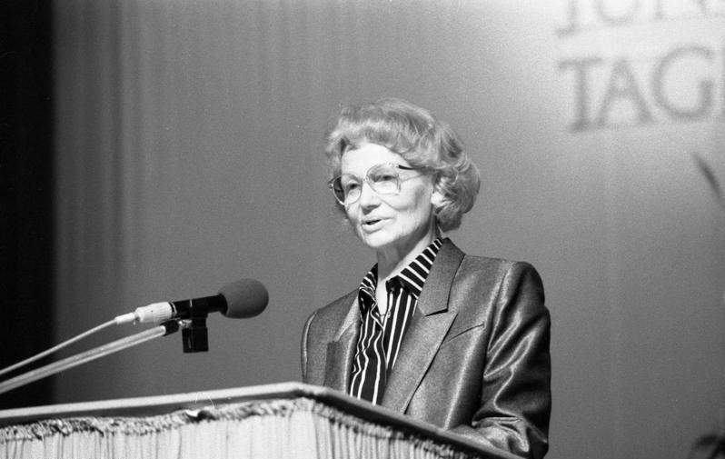 Margot Honecker in 1989