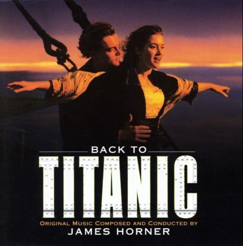 "I bought all sorts of ""Titanic"" memorabilia, including the piano score book."