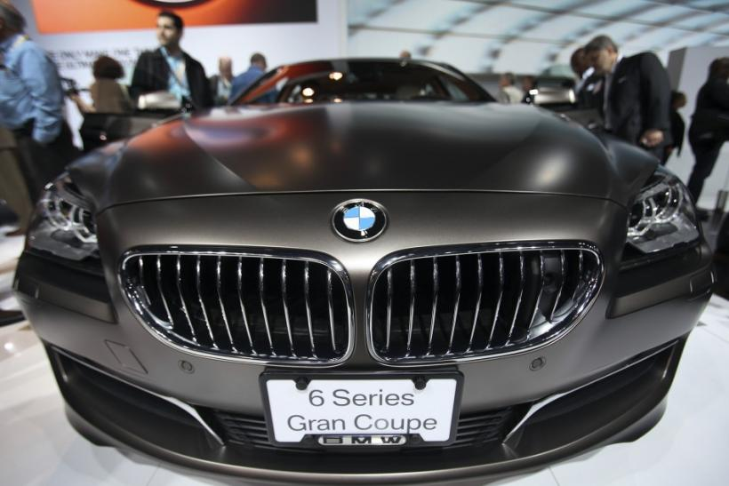 The 2013 BMW 6 Series Gran Coupe automobile is seen at the 2012 International Auto Show in New York