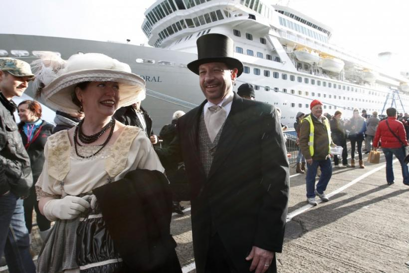 Titanic's Memorial Cruise Ship MS Balmoral Retracing The Same Path 100 Years Later