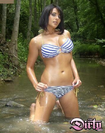 Potential Petrino mistress and former bikini model Alison Melder.