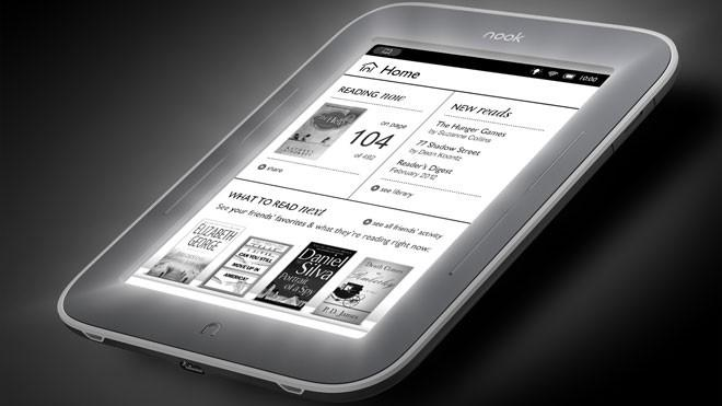Barnes & Noble New NOOK Now Lets You Read in the Dark