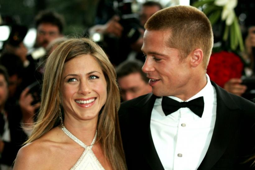 Jennifer Aniston and Brad Pitt