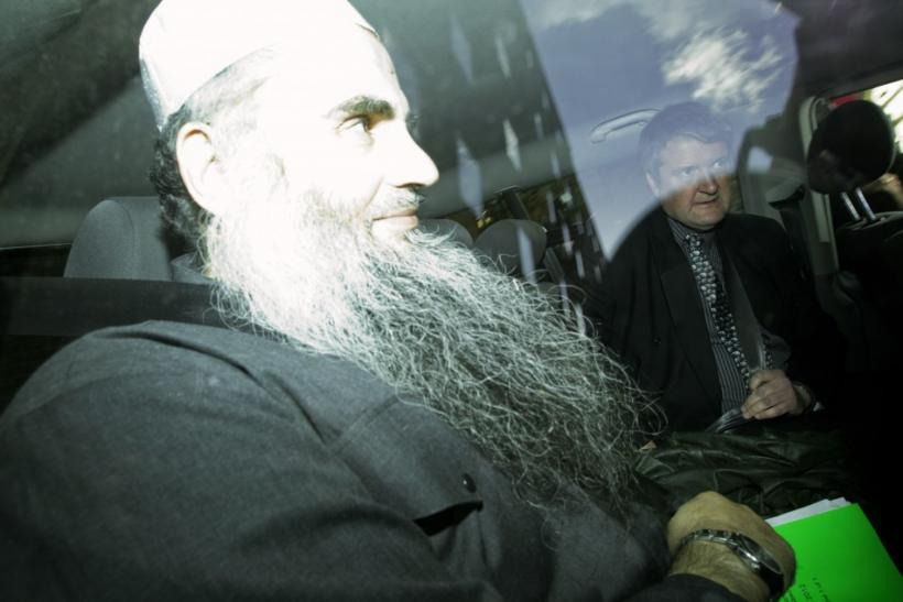 Abu Qatada is driven from Special Immigration Appeals Commission hearing in London on 17 April, 2012
