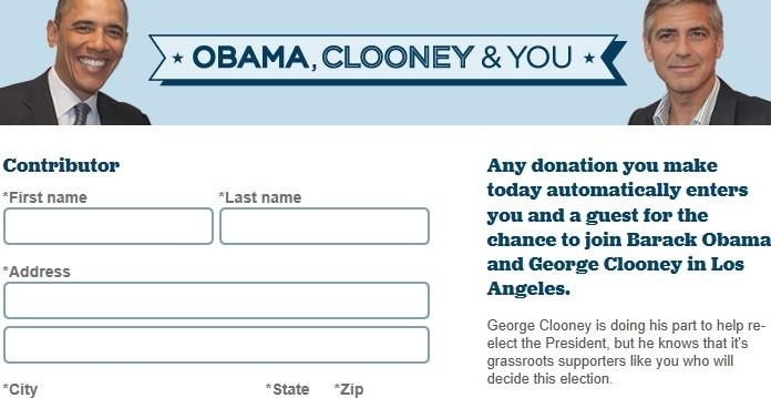 Want to Meet George Clooney? Obama Campaign Will Help -- For A Donation