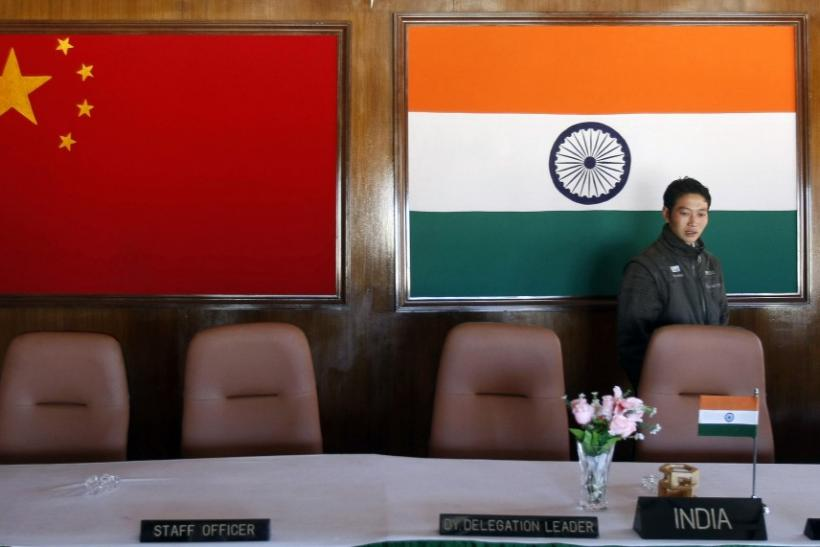 A Military Conference Room Near The Chinese-Indian Border