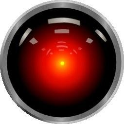 "HAL9000, the sentient computer from ""2001: A Space Odyssey"""