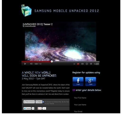 Samsung Galaxy S3 Release Countdown: Tea