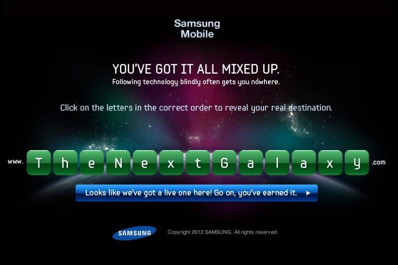 Samsung Galaxy S3 Release Date 2012: Countdown Results In Unscramble