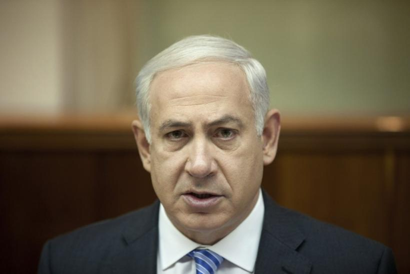 Israel's Prime Minister Netanyahu attends weekly cabinet meeting in Jerusalem.