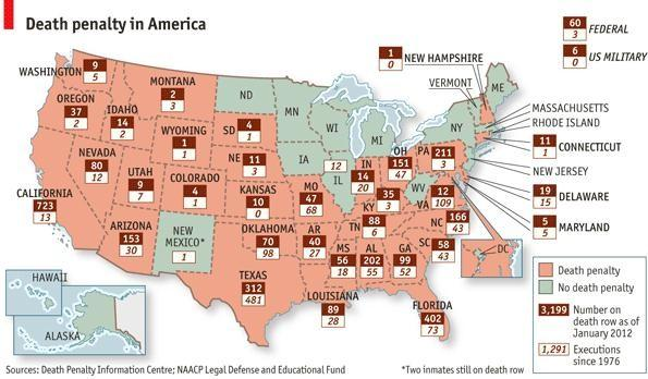 Death Penalty Map
