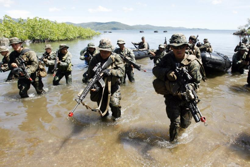 U.S. and Filipino Marines